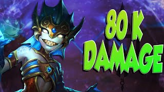 80,000+ DAMAGE! THE ULTIMATE CARRY GAME! | Incon | Smite | Scylla