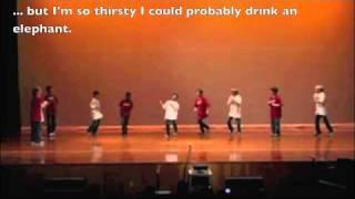 Coke and Sprite Talent Show Performance (Josh Tribute)