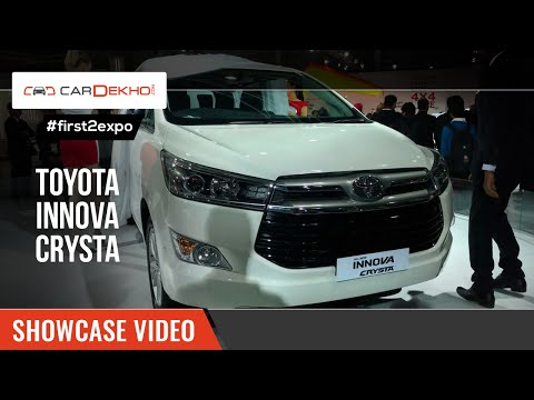 #first2expo | 2016 Toyota Innova Crysta | Showcase Video @AutoExpo2016