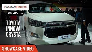 Toyota Innova Crysta Price - Reviews, Images, specs & 2019