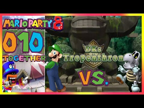 MARIO PARTY 8 Part 10 - Abfeiern im Party-Pavillon [PARTYMODUS-START]