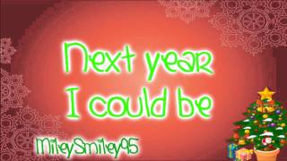 Taylor Swift - Santa Baby (with lyrics)