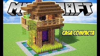 Casas simples no minecraft 123vid for Como hacer una casa moderna y grande en minecraft 1 5 2