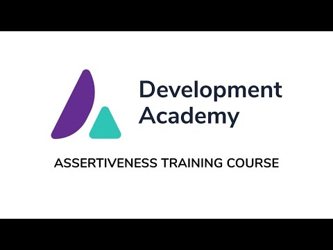Assertiveness Training Course - Short Course Introduction Video ...