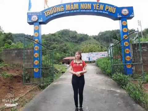 Dạy trẻ cách gấp quạt. Cô giáo Nguyễn Thị Hiền