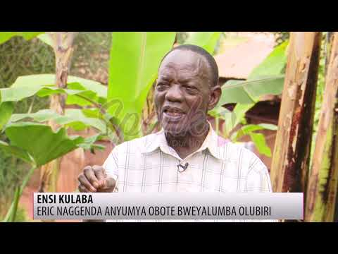 Eric Naggenda anyumya Obote bweyalumba olubiri