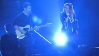 Demi Lovato And Nick Jonas - Here We Go Again (Live in San Jose)