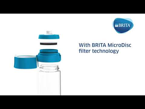 BRITA vandenį filtruojanti gertuvė Vital, melsva kaina ir informacija | Vandens filtrai | pigu.lt