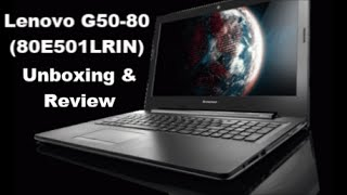 lenovo g508080e501lrin  unboxing and review