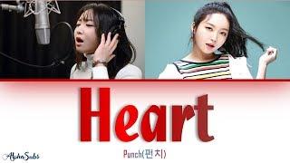 펀치 (Punch)   Heart [이 마음] Lyrics가사 [Han|Rom|Eng]
