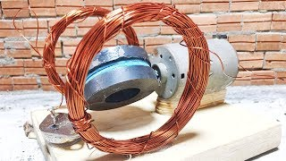 100V  electric dc motor generator using self running machine , science project  2019
