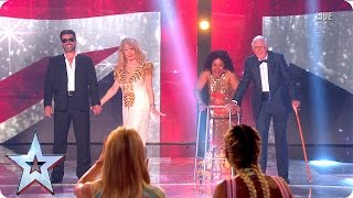 Stephen introduces the Judges to their Old-alikes | Semi-Final 5 | Britain's Got More Talent 2016