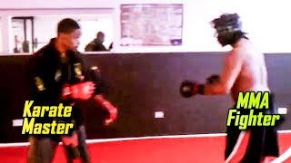 A Student Challenges his Karate Master and gets what he deserves