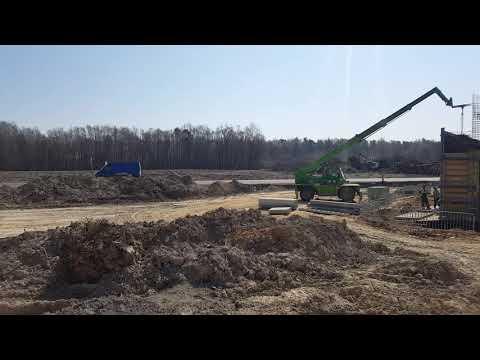 Prace przygotowawcze pod budowę drogi ekspresowej S19 - okolice obiektu WD-26.