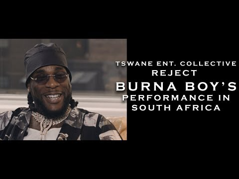 Burna Boy Performance in S.A Rejected