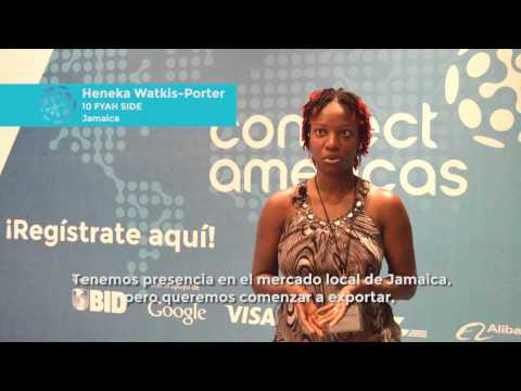 Descubra por que uma empreendedora jamaicana recomenda a ConnectAmericas.com
