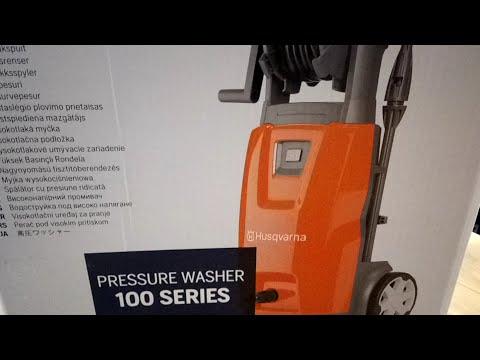 Pressure Washer Husqvarna PW 125 NOVELTY!UNBOXING!