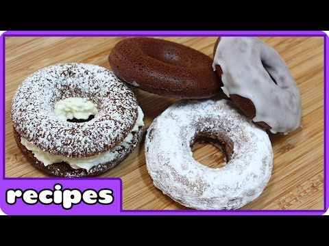 Chocolate Donut Recipe | Quick and Easy Recipes | Learn how to cook with HooplaKidz Recipes