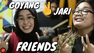 Friends Medley Goyang Dua Jari - Prisha Feat. Dilla (Cover)