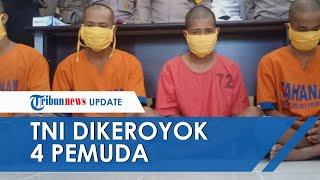 Viral Video Pria Dikeroyok 4 Pemuda di Jalur Pantura, Ternyata Korbannya Anggota TNI