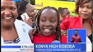 Shule ya upili ya Kenya High yaandikisha idadi kubwa  zaidi ya wanafunzi waliopata alama ya A