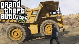 ★ GTA 5 - Dump Truck Location and Gameplay