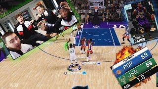 CLUTCH ALL-TIME SCORING LEBRON! | 4 Player INTENSE Basketball Challenge w/ 2HYPE!