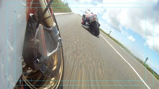 Conor Cummins battles with William Dunlop - TT 2014 - Superstock Race - HD