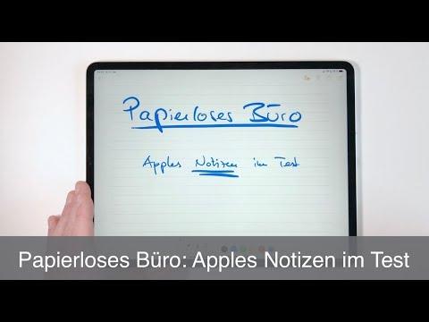 Papierloses Büro: Apples Notizen im Test