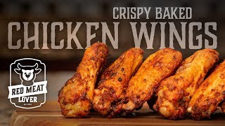 Oven Baked Chicken Wings - TASTY Tips For Baking CRISPY Chicken Wings!