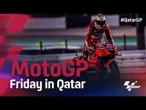 中上貴晶は14番手 MotoGP 2021 第1戦カタールGP フリー走行のハイライト動画