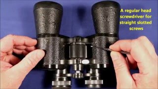How To Align Binoculars At Home