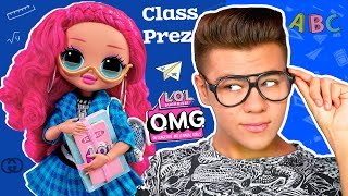 CLASS PREZ училка в брендах LOL Surprise! 3 серия кукла Класс През Обзор