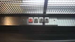 Vintage Dover Hydraulic elevator @ Beacon Hill Building Alexandria VA