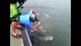 Рыбалка за границей базы отдыха