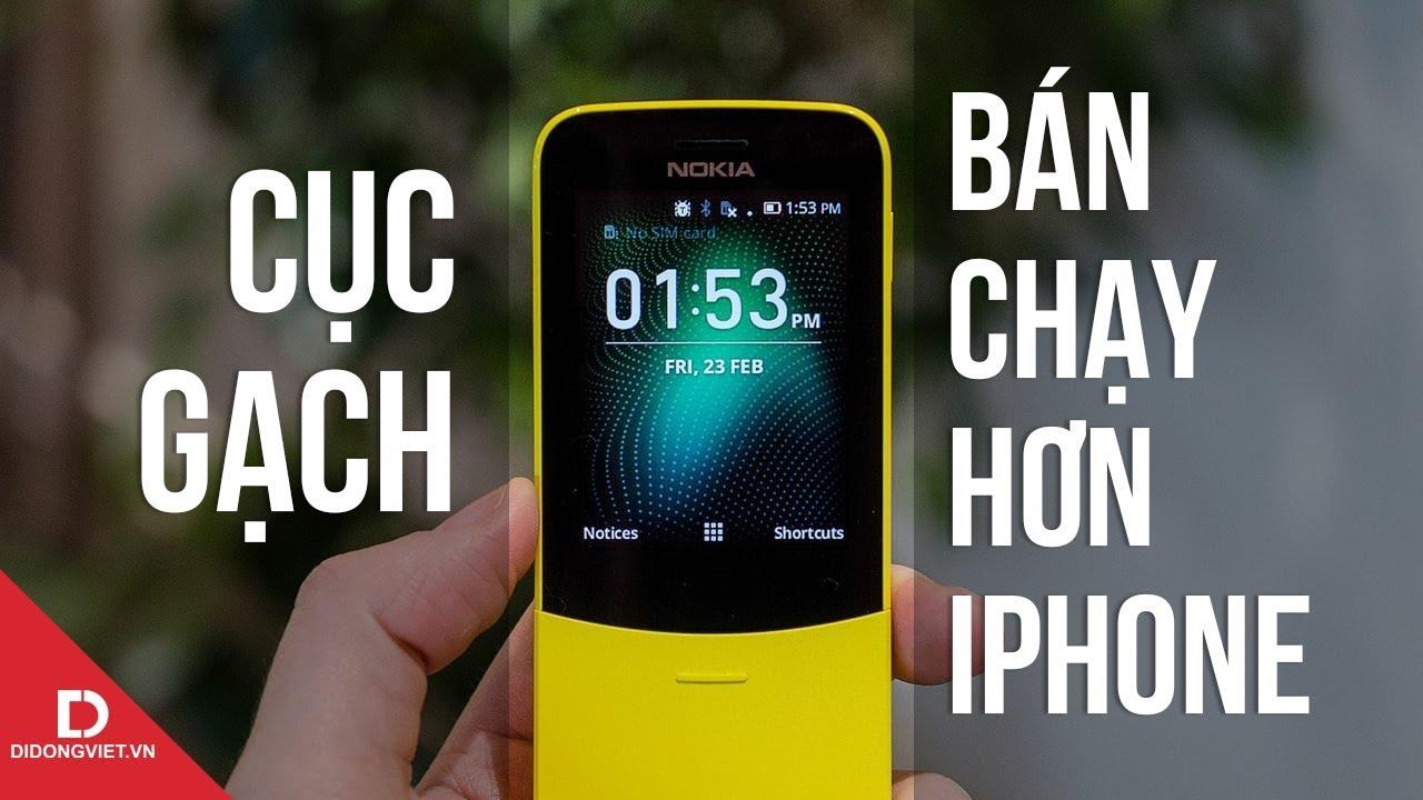 Điện thoại cục gạch tưởng đã chết mà vẫn bán chạy hơn iPhone