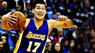Jeremy Lin林書豪-02/01/2015 Lakers vs Knicks 湖人vs尼克