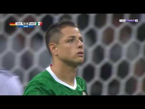 ملخص مباراة المانيا والمكسيك 0-1 - مباراة مجنونة - حفيظ دراجي