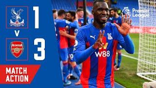 Crystal Palace 1-3 Arsenal Pekan 37