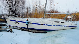Бросили Яхту ЗИМОВАТЬ во Льду. Что с Ней Случилось?