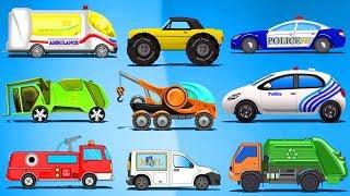 Futuristic Street Vehicles   Cartoon Videos For Children by Kids Channel