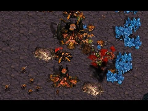P - InControl (Z) v Rush (Z) on Blue Storm - StarCraft  - Brood War REMASTERED
