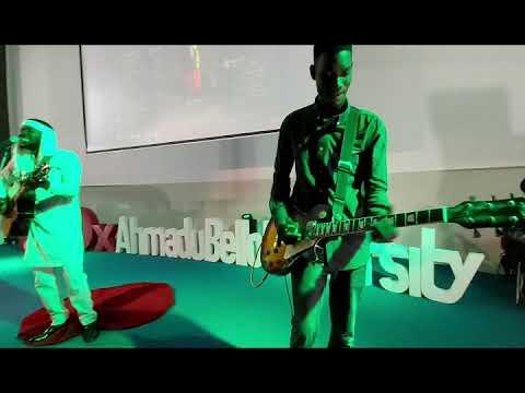 Jeremiah Gyang Live! in TEDx Ahmadu Bello University
