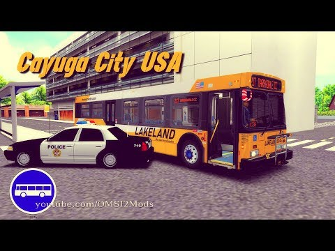 Download OMSI 2 - Cayuga City USA 0 7 New Flyer Bus - VIDEO