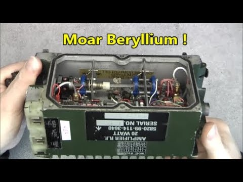 20 watts military radio  amplifier teardown