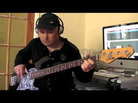 new york new york frank Sinatra  on line 6 bass set to double bass