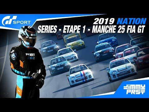 GRAN TURISMO SPORT : SÉRIE 2019 - ETAPE 1 - MANCHE 25 I Malgré tout, c'était une belle course !!