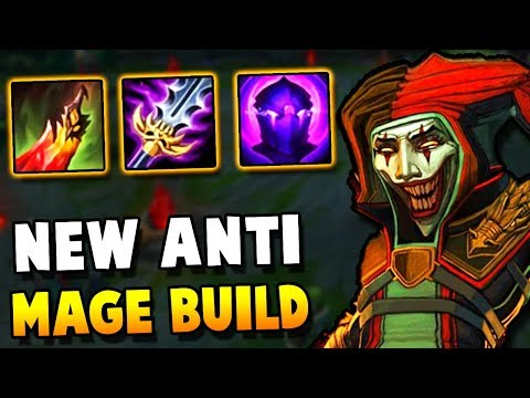 This New Shaco build is actually 1v9 against MAGES (VS RANK 1 SHACO) - Challenger to RANK 1