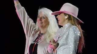 "Lady Gaga Brings Mom On Stage & ""Million Reasons"" Live @ Joanne World Tour: San Francisco 8/13/17"