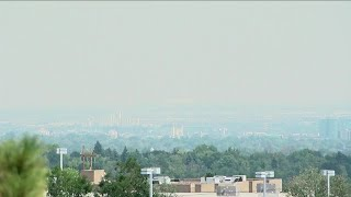 Poor air quality from wildfire smoke brings added concerns during COVID-19 pandemic in Colorado
